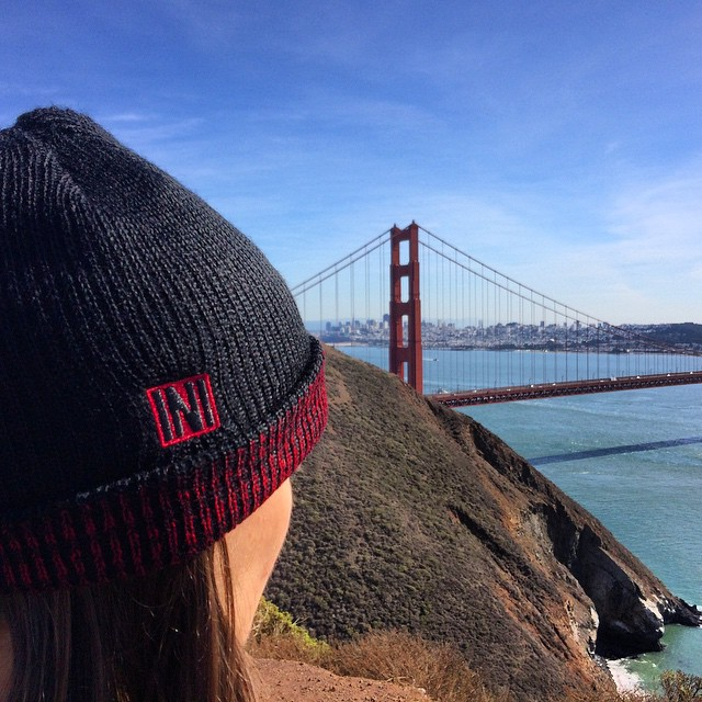 Reverso Heather Beanie made from Acrylic/Wool Blend. Perfect for a cool morning in the Bay Area. #SF #MundfullyManufactured ♻️