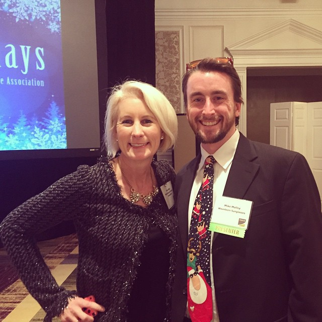 Great time at the @MAVACapCon #MAVAHoliday luncheon #waveborn
