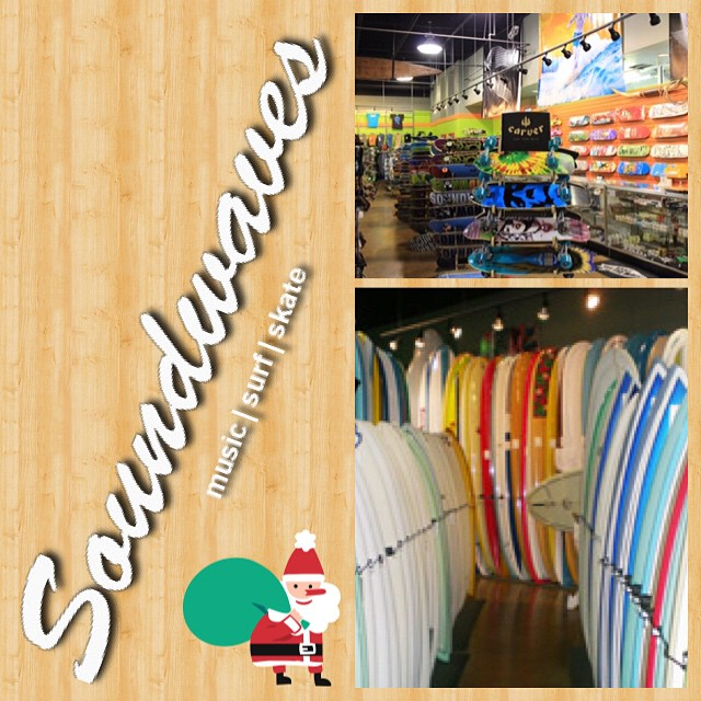 Need gift ideas for the holidays? Check out @soundwaves_houston  for all of your surf, skate, uluLAGOON candles, and music needs! These guys are awesome.  #uluLAGOON #surfwaxcandles #candles #soundwaves #surf #skate #music #teamup #stepintotheLAGOON
