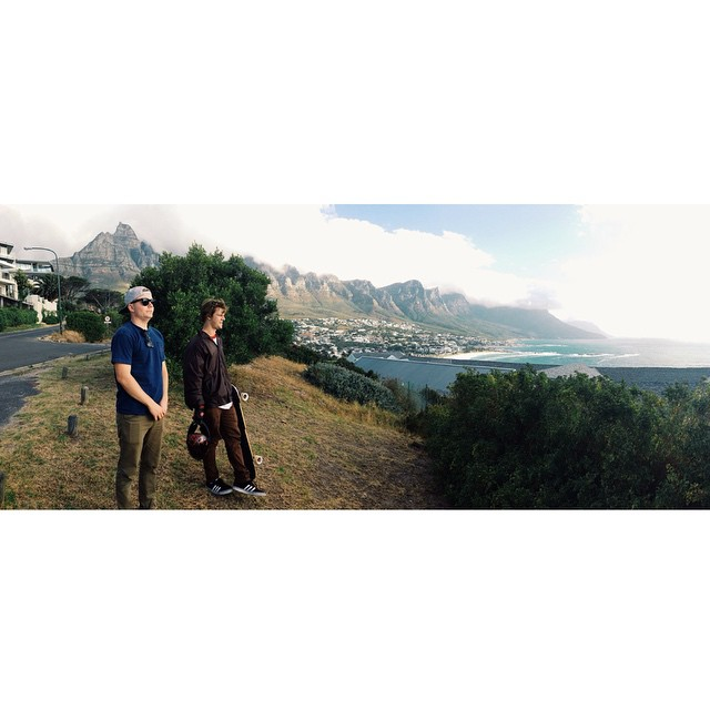 @liam_lbdr_ @brandontissen and @chubbaluv are in South Africa skating the local terrain!