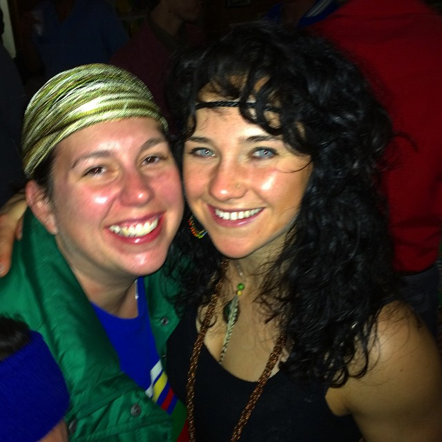 Love this amazing girl! Probably one of the strongest willed ladies in the planet. She has helped me grow and evolve into the person I am today. She sees the beauty in everyone and everything! #badass #mountainmama #powder #snowboard #70'sparty...