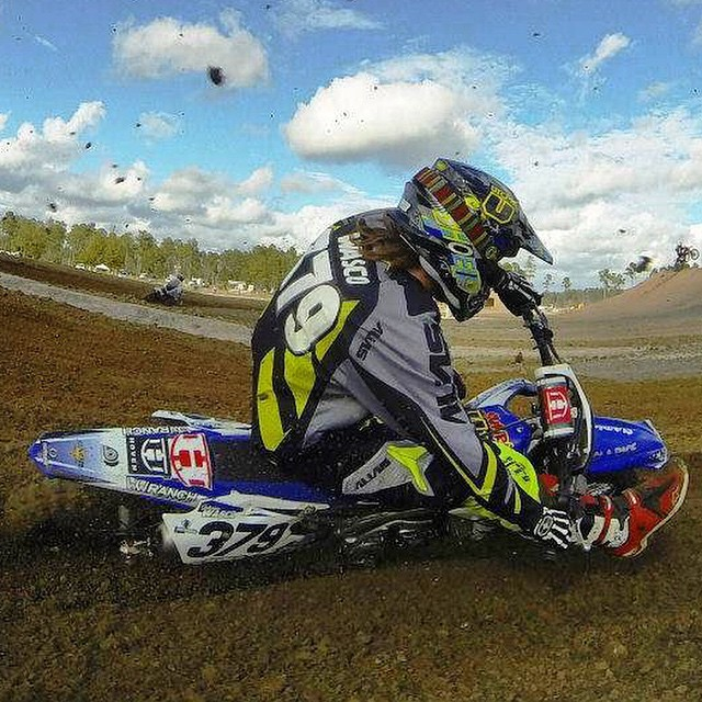 #GoPro action of our boy @johnnywasco tearing it up. Photo cred: Jones Joey #hovenvision #brap #motocross