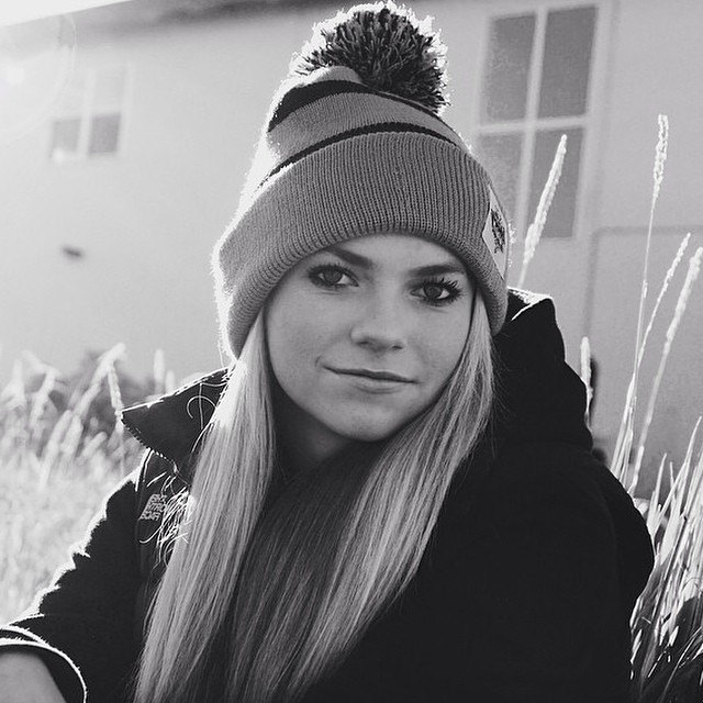 @paulacooperr rocking the grey pom pom beanie, get yours through www.frostyheadwear.com