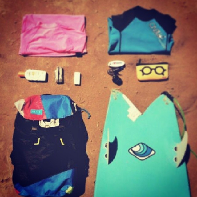 MAFIA SURVIVAL KIT BY AGGY FERRARI. #mafiasurvivalkit #goexplore #surf #sun @aggyferrari