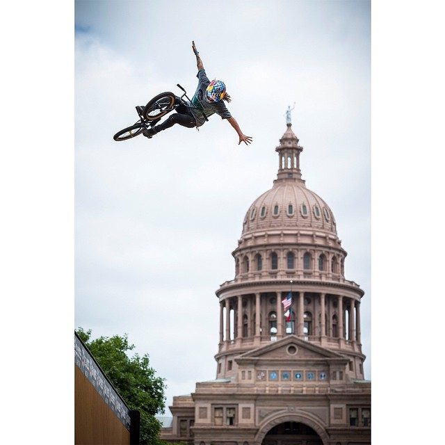 We're flyin' to Texas to announce the dates of #XGames Austin 2015.  Check us out at the ATX Trail of Lights tomorrow! ❌