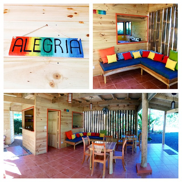 "Welcome to Common Area ""Alegria"". We have designed this area, which is centrally located in the Bodhi Surf Lodge, to be a place of sharing, laughter, and joy!"