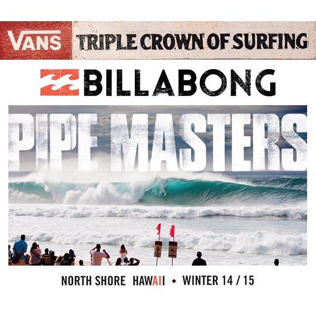 Vans Triple Crown Of Surfing mode ON. Sigan la Pipe Masters vía streaming en VansTripleCrownOfSurfing.com