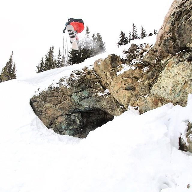 Team rider from #Utah @shansen212❄️#FrostyHeadwear #Snowboarding #FrostyVision