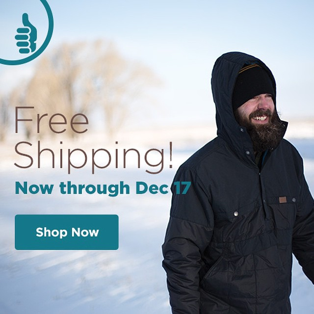 Free shipping on ALL orders now through December 17. #trew #technylish
