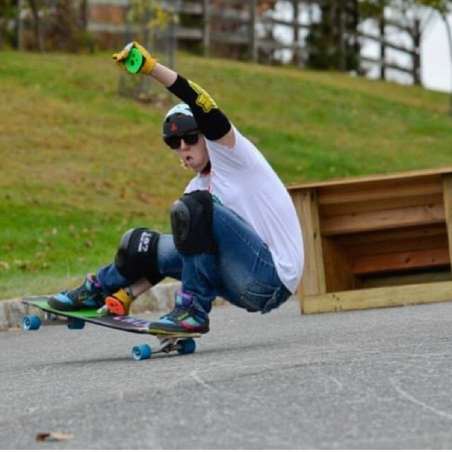 @skatingbaker is a badass !! #longboardgirlscrew