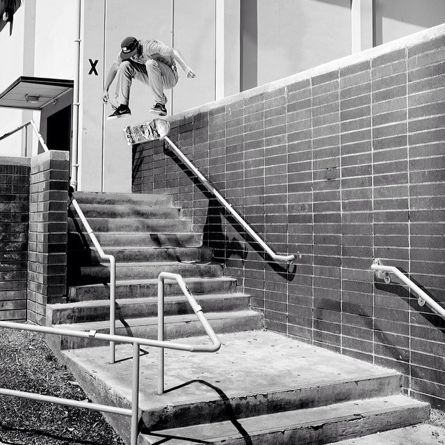@lukeshootsphotos banger pic of #colingille with a #nollieheel from #issue33 #steezmagazine #skateboarding