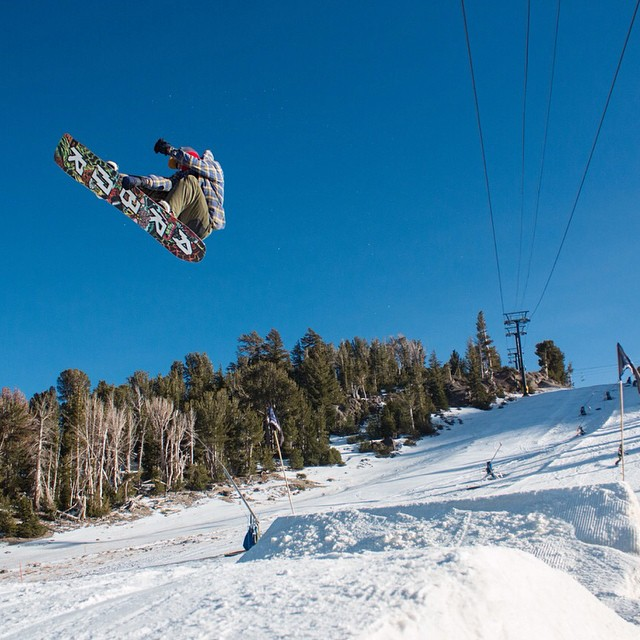 @mikeegray ripping at @mammothmountain @mammothunbound ❄️