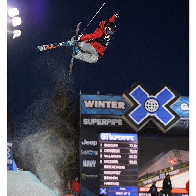 Five-time #XGames Ski SuperPipe medalist @rozgroenewoud turned 25 years old today.