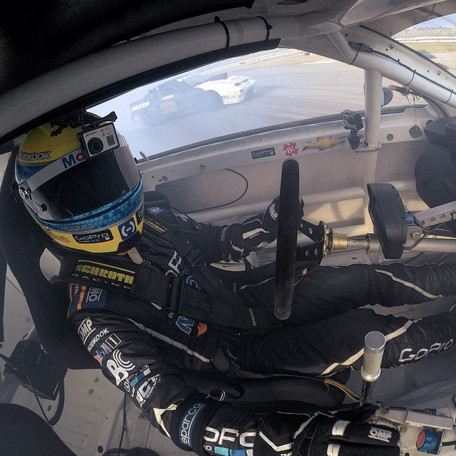 Professional tire ruiner @tylermcquarrie of GoPro Mobile1 Hankook Formula Drift Team.