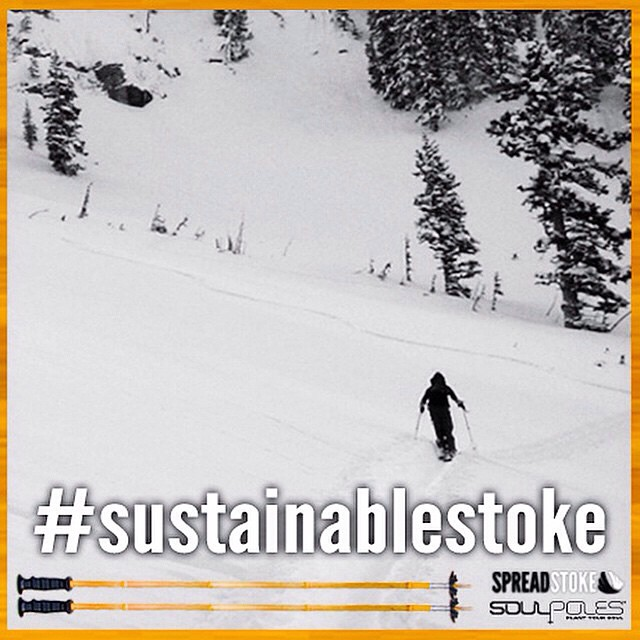 Join @soulpoles and the @spreadstoke community for a #sustainablestoke challenge!  We will be giving away a pair of custom SpreadStoke Signature Soul Poles!  To Enter the Challenge:  1. Follow @spreadstoke and @soulpoles 2. Share a photo of how you...