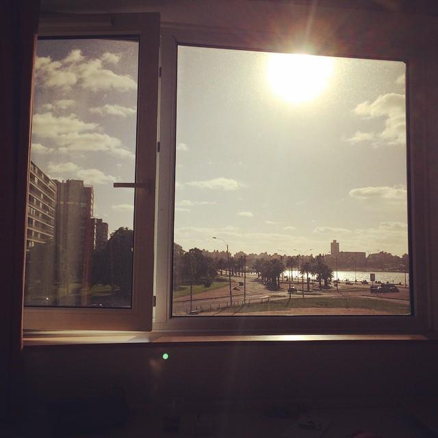 Desde mi oficina #Montevideo #Work