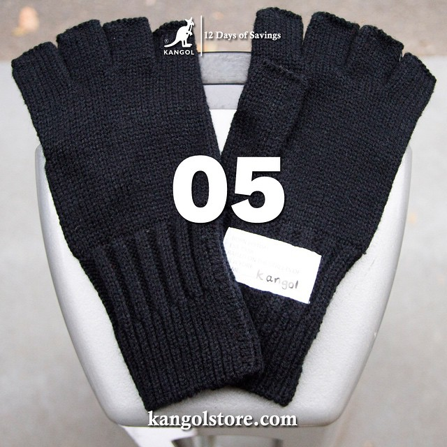 24 Hour Sale —Day 5: 20% Off Our Gloves at kangolstore.com Code: ksglove20 #kangol12daysofsavings #kangol