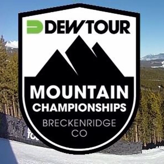 Stoked for all the athletes!!! Home town love for @devinlogan #fulsend #breckenridge #justsendit #skiing #snowboarding #colorado #ski #sendit