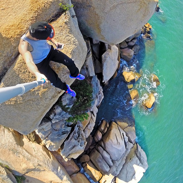@daniel__lau using GoPole Reach and the GoPro App to capture this selfie. #gopro #goproapp #gopole #gopolereach #exthetics