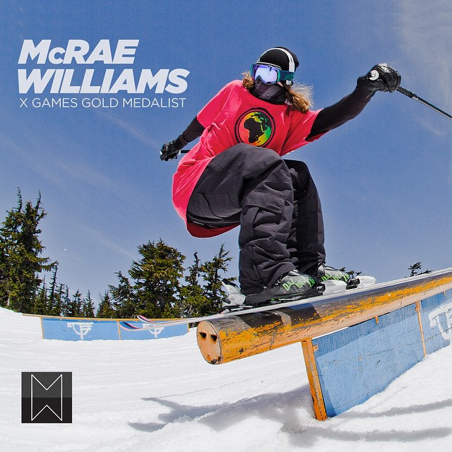 We're stoked to sponsor such an incredible athlete as @mcrae_williams! He's a 2 time X Games medalist and currently competing in the Breckenridge, CO @dewtour - Show him some support and checkout his custom Triple Set, link in our profile #Breckenridge...