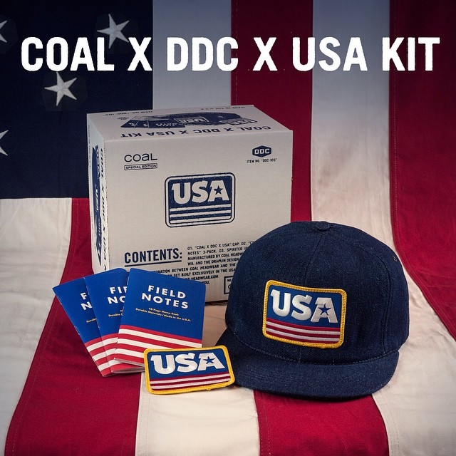 The COAL X DDC X USA kit is packed full of #fineliving and makes a great gift this holiday season. Follow the link in our bio to spread some @draplin cheer.