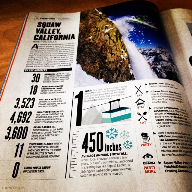 Thank you @squawalpine @skiingrogge & @skiingmagazine for the shout-out! @bigtruckbrand #funfirst