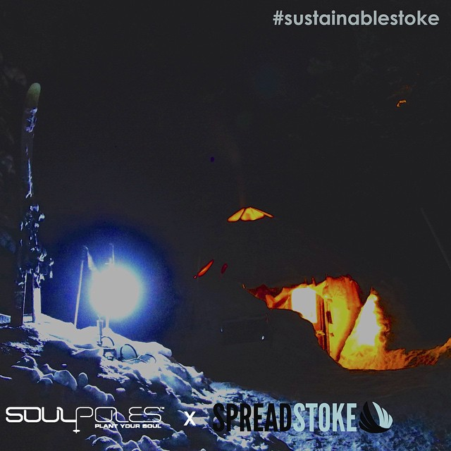 Because the keg tastes better in the middle of the wilderness // #sustainablestoke  __________________________________  Learn more about entering the contest and winning a pair of coLAB Spread Stoke signature #SoulPoles by following the link in...