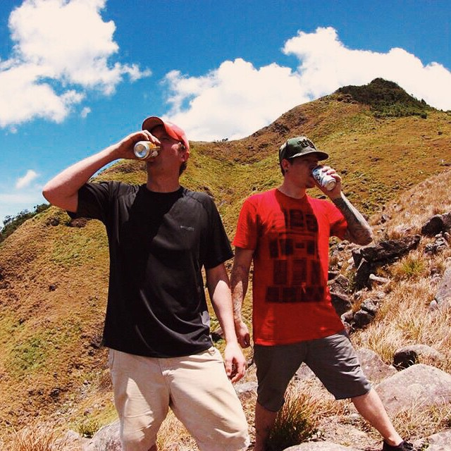 In honor of International Mountain Day, here's a #tbt of us on a development trip in the Philippines downing San Miguel atop volcano Mt. Tarak. This was a real bitch of a hike. It was 15+ miles in the hot and muggy jungle. At times there was no visible...