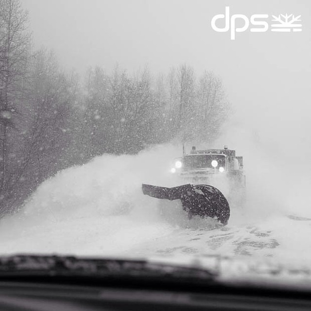 The Haines Highway is one of the most magical stretches of road, especially when the storms descend on the valley. Photo: @oskar_enander. #dpsskis #PowderRoad #tbt #dpsroots #Alaska