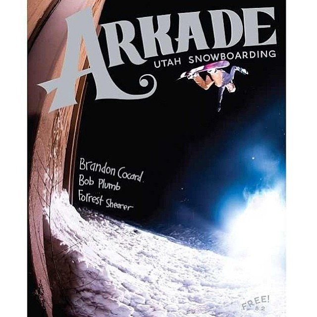 Look who made the cover of Dec 2013 @arkadesnowboarding - @bcocard for the win! Love the shot by @seankerricksullivan  #coverboy
