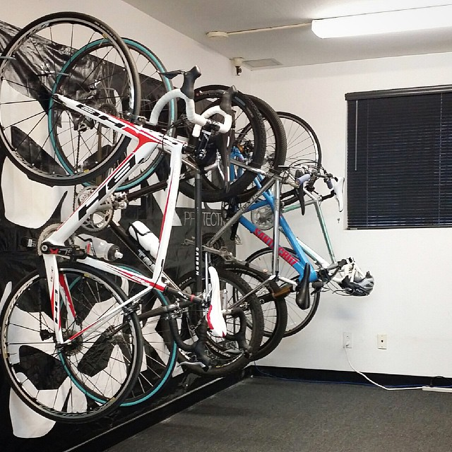 It may seem like a small thing, but we're stoked to finally have some legit bike parking in the office! Thanks for getting this project dialed @bryan_t_mason.
