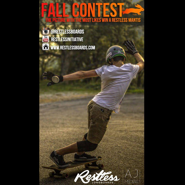 The current #restlessfallcontest leader! Keep liking your favorite pictures on facebook! Contest ends in 12 days! #restlessboards