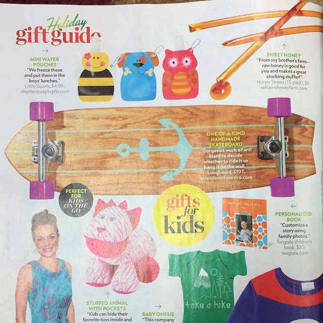Check out our huge feature in People Magazine's 2013 Holiday Gift Guide!