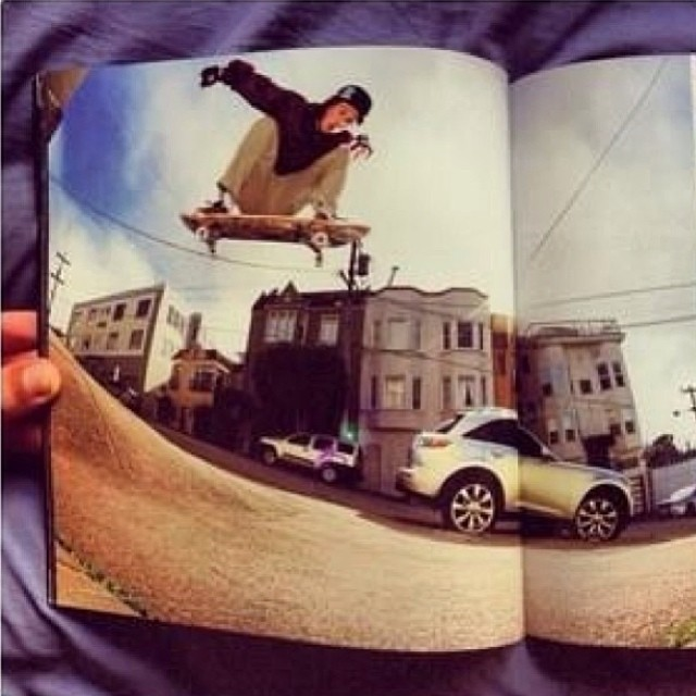 We are all stoked on the photo of @_jensen_7 in the newest issue of @heelsidemag! Photo by the critically acclaimed @grizzphoto... Swoop an issue and enjoy!
