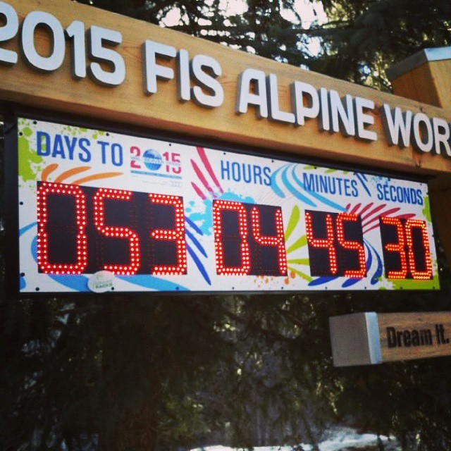 "New #Colorado slogan: ""Colorado, It NEVER sucks to be here."" Think it'll stick? #Vail has begun the countdown to the 2015 FIS Alpine World Championship.. 52 days left.  In other countdown news.. 13 days til #Christmas and 4 days til #Hanukkah. Have you..."