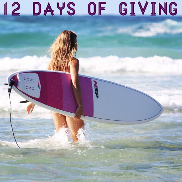 12 DAYS OF GIVING // NSP  DAY 4: @NSPsurfnsup makes it easy to #behealthygetactive year-round with their line of B4BC #surfboards and SUPs!  Get your zen on out on the lake or get your #shred on with some winter swells to help NSP support B4BC with...