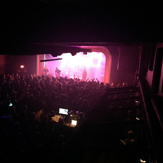 Portland...EXODUS...sold out MAD FUCKIN NICE