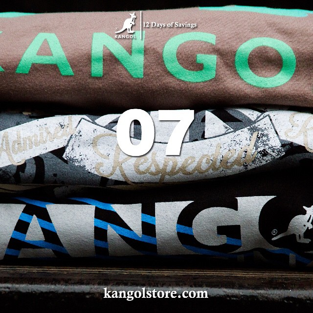 24 Hour Sale —Day 7: 5% Off Kangol Graphic T-Shirts at http://kangolstore.com Discount Code: ksday7 #kangol12daysofsavings #kangol
