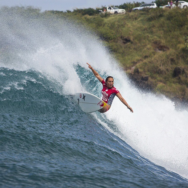 Our World of X Games #TargetMauiPro show will air today at 1 pm ET/11 am PT on ABC! (Photo via Getty Images)