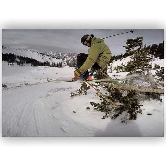 Who cares if the snow is crusty and rock hard when there are so many good trees to tap?! Here, Sander Hadley proves yet again that as long as you're having fun on snow, you're doing it right... #TribeUP tree love tap!  Photo: @tansnowman  Location:...