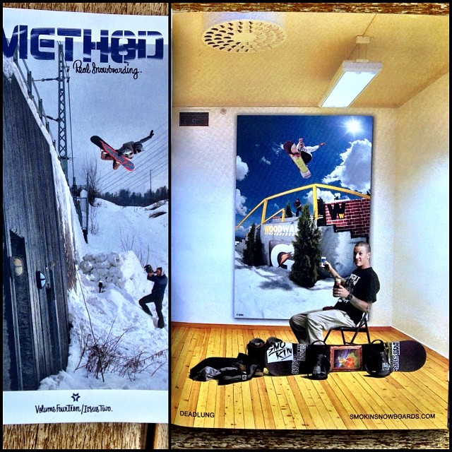 The new issue if @methodmag just arrived, one of our favorite magazines, peep @deadlung's  ad  #forridersbyriders #handmadelaketahoe