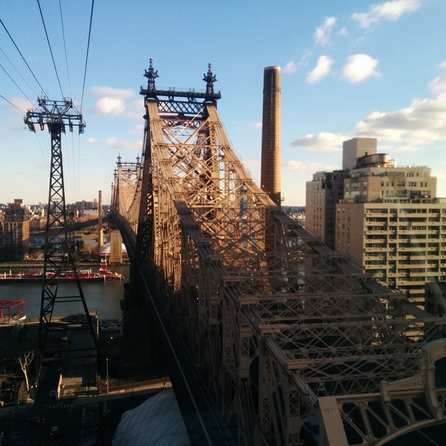 A ride in the Roosevelt Island Tram
