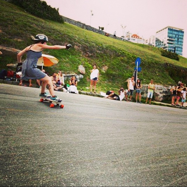 Yamile Isach @yamisach from LGC #Argentina during last weekends Mar del Plata Slide Jam. Yeah Yami! Pic Guada Falomir