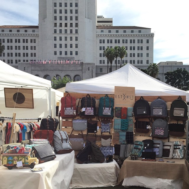 Here we go again! Come check us out at #RenegadeLA booth 57 in Grand Park. #renegadecraftfair #ethicalfashion #ecofashion #handmade