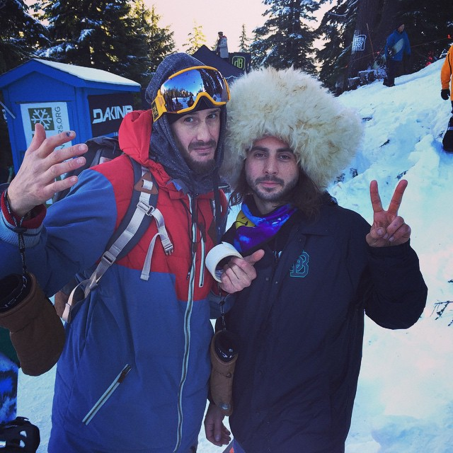 @eldulche @dannykass #dirksenderby8 Good times up here at Mount Bachelor