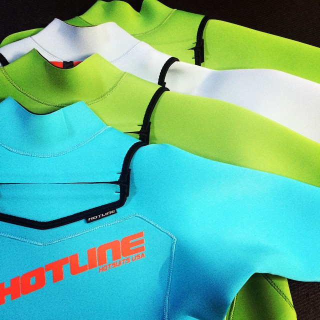 Colors colors colors ! #CustomWetsuits #SantaCruz
