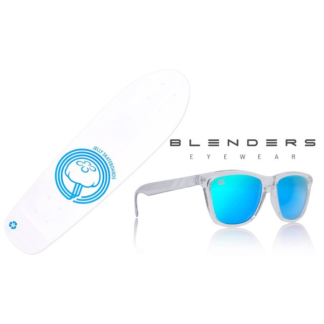 "Today is the last day to score 15% off a Jelly and a FREE pair of $30 Blenders shades! Just use discount code ""jellyblenders"" when checking out"