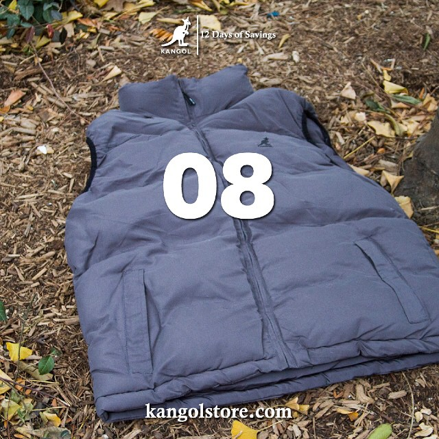 24 Hour Sale —Day 8: 10% Off All Kangol Outerwear Purchases at http://kangolstore.com Discount Code: ksday8 #kangol12daysofsavings #kangol