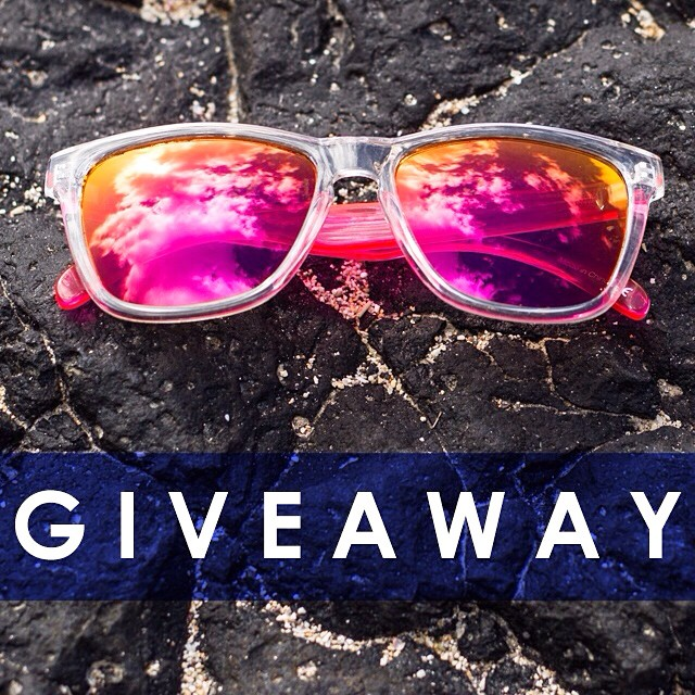 On the seventh day of free shades, Sunski gave to me... Pink Originals!  It's Day 7 of the 12 days of Sunski and today we are giving away a pair of PINK ORIGINALS