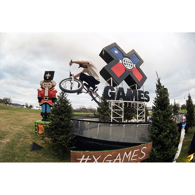 ICYMI: Last week, hometown hero @chase_hawk helped us announce that #XGames Austin will be contested June 4-7, 2015 at COTA. (